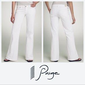 """Paige Bundy """"Flip Flop"""" Flared Jeans SZ 31"""